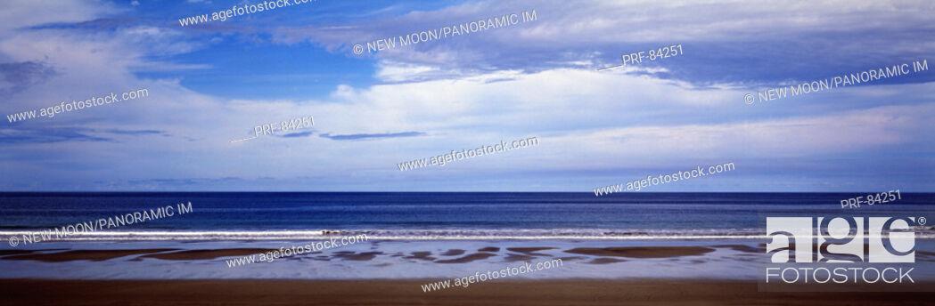 Stock Photo: Beach Playa Naranjo Guanacaste Province Costa Rica.