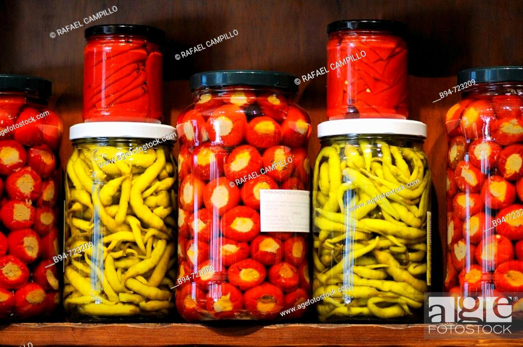 Stock Photo: Preserved food.
