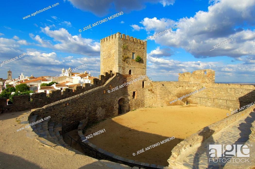 Stock Photo: Monsaraz. Fortified Village. Alto Alentejo. Evora. Portugal.