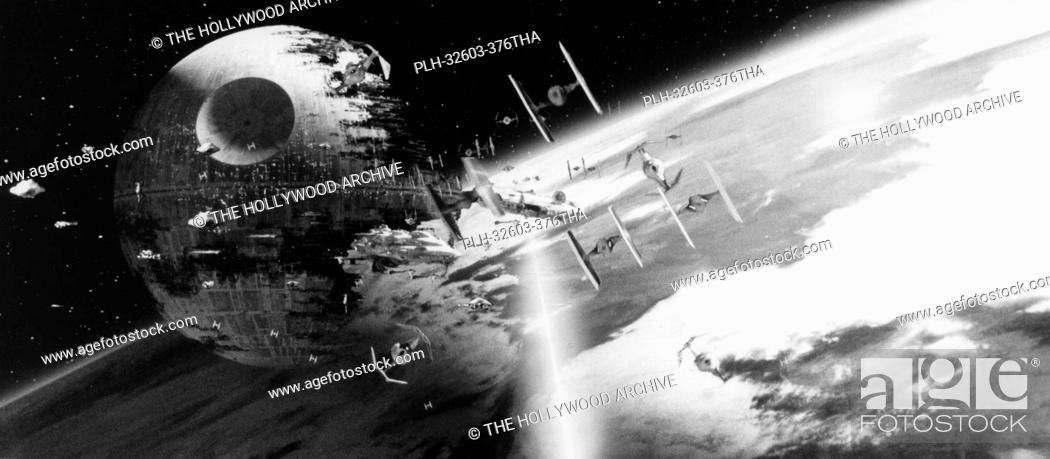 Imagen: Death Star in Star Wars Episode VI: Return of the Jedi, 1983.