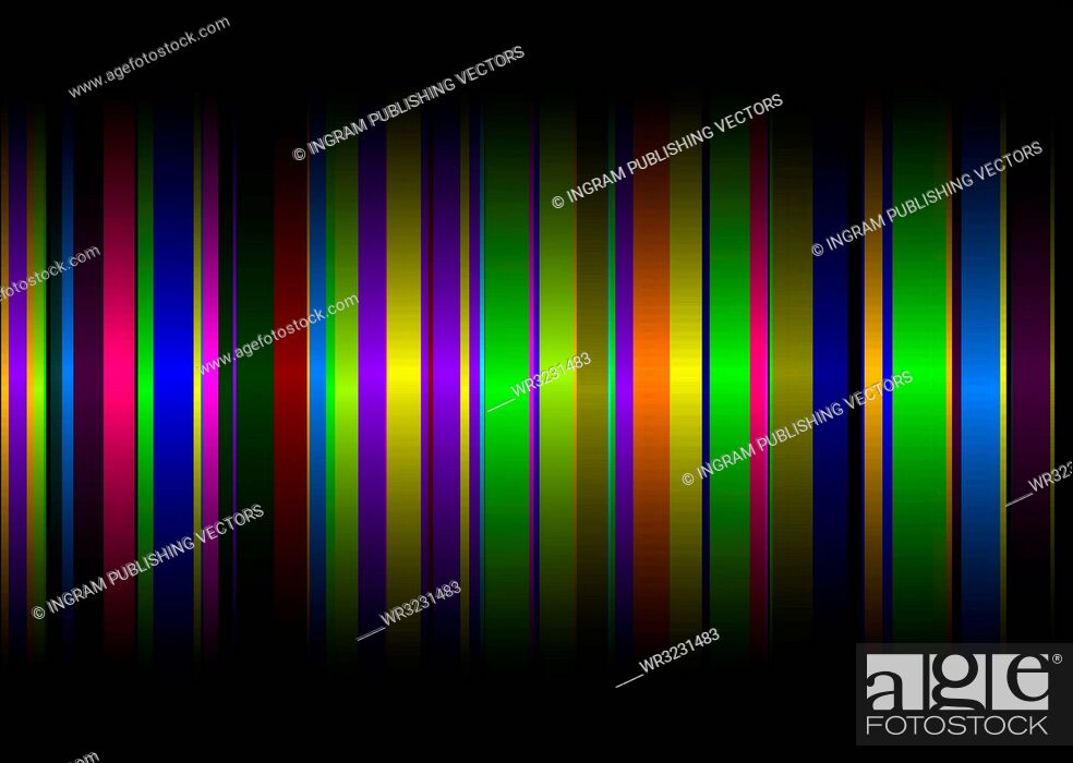 Vector: Colourful rainbow abstract background with copy space.
