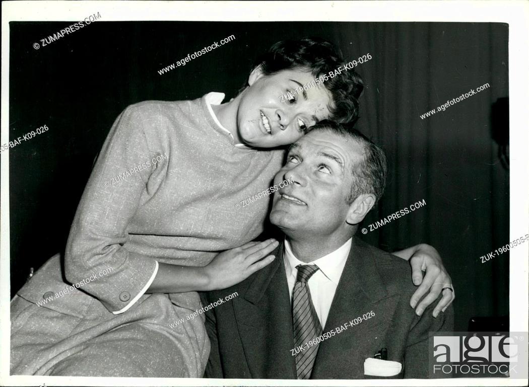 May 05 1960 Sir Laurence Olivier Seeks Divorce
