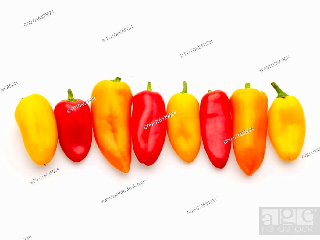 Stock Photo: vegetables, food, ingredient, food material, cuisine, greens, paprika.