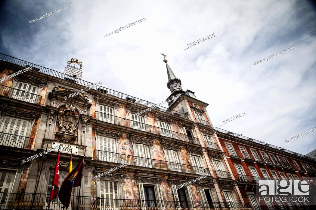 Imagen: Main square of Mdrid - Plaza Mayor, Spain.