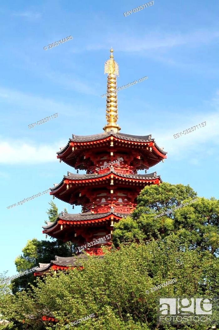 Stock Photo: Kawasaki Daishi temple in Kawasaki, Japan.