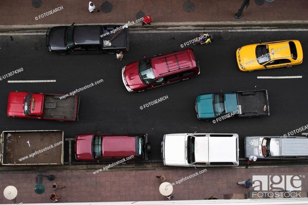 Stock Photo: street, marking, way.