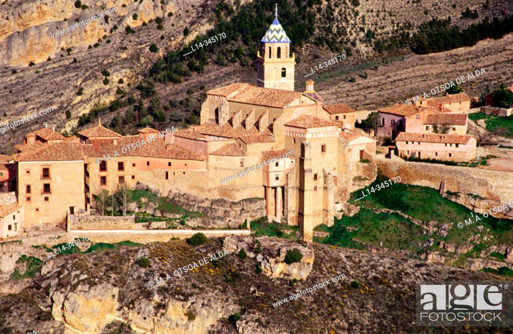 Stock Photo: Albarracín. Teruel. Spain.
