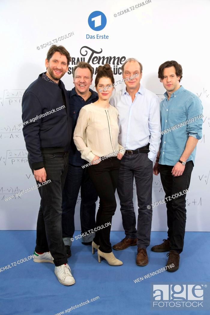 "Stock Photo: Actors promoting the new Series """"Frau Temme sucht das Glueck"""" at Side Hotel Featuring: Sebastian Schwarz, Ronald Kukulies, Meike Droste, Martin Brambach."