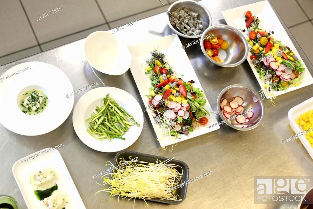 Imagen: Cooking school, Cuisine School, Donostia, San Sebastian, Gipuzkoa, Basque Country, Spain, Europe.