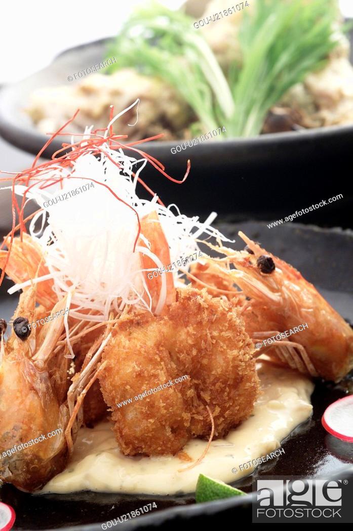 Stock Photo: Shrimp.