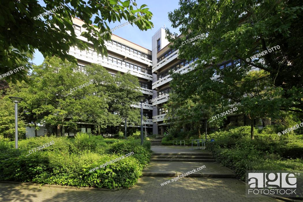Stock Photo: Dortmund, D-Dortmund, Ruhr area, Westphalia, North Rhine-Westphalia, NRW, TU Dortmund University, Campus North, school building Emil Figge Strasse 50.
