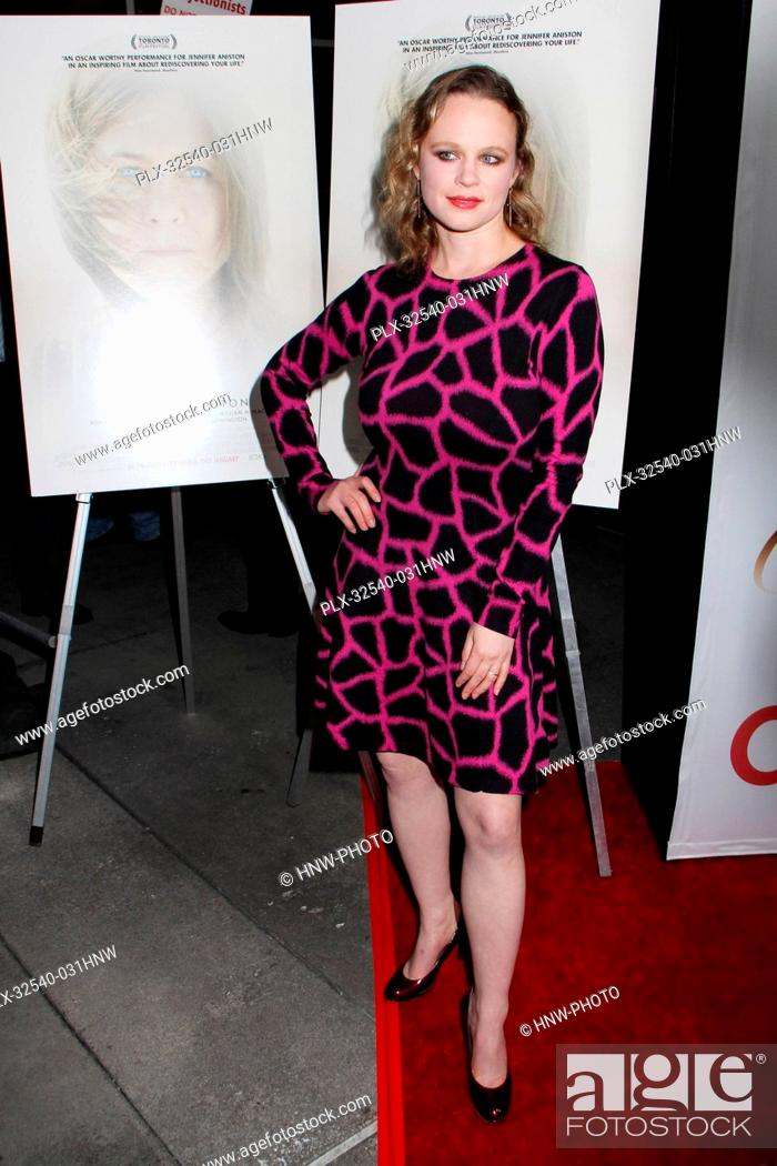Thora Birch 01 14 2015 Los Angeles Premiere Of Cake Held At