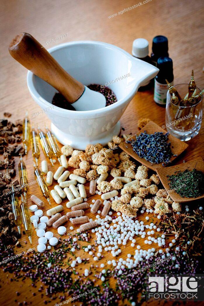 Stock Photo: Alternative medicine.