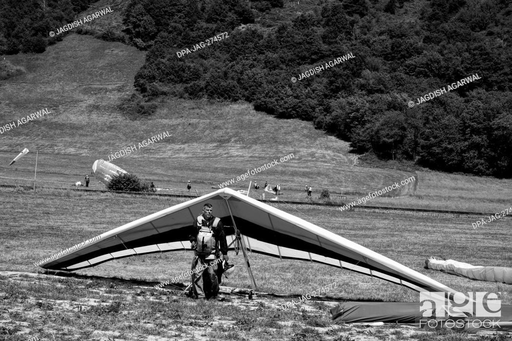 Imagen: Glider, Storkensohn, Haut Rhin, Grand Est, France, Europe.