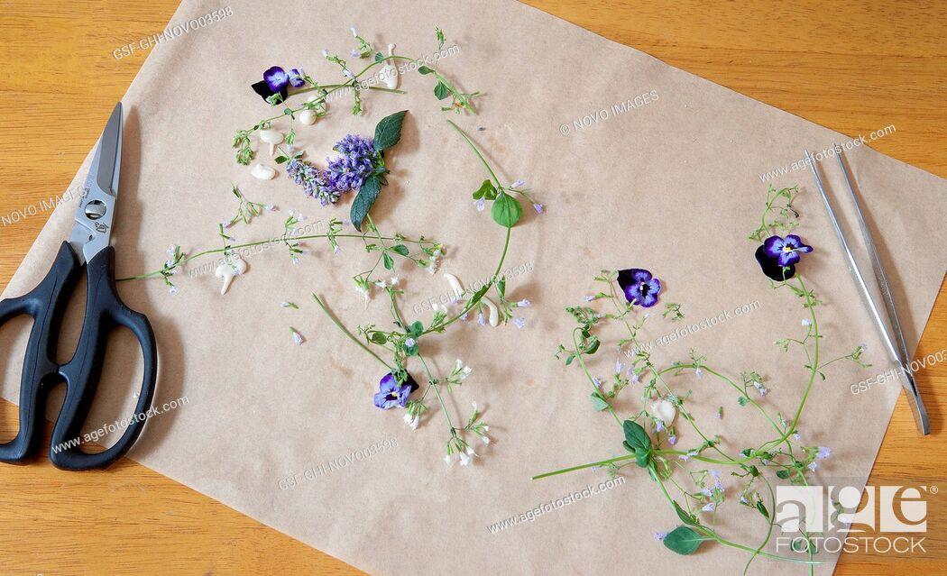 Imagen: Edible Flowers.