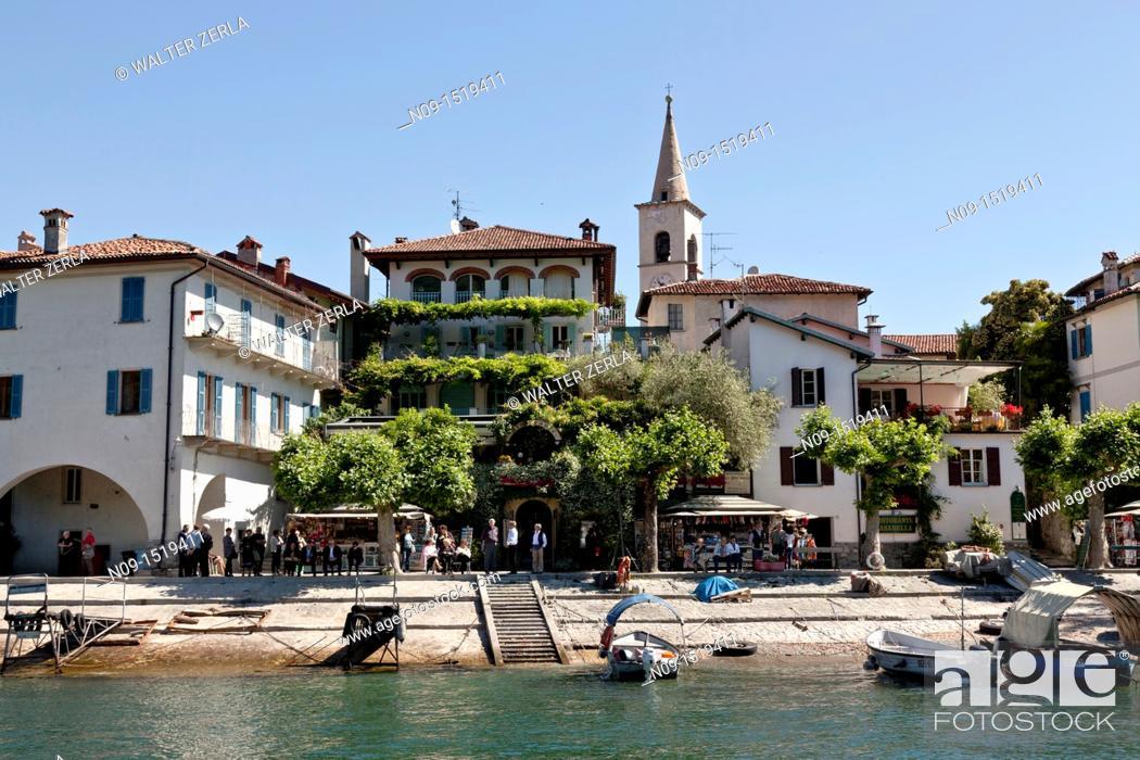 Stock Photo: Isola bella, Lake Maggiore, Italy.