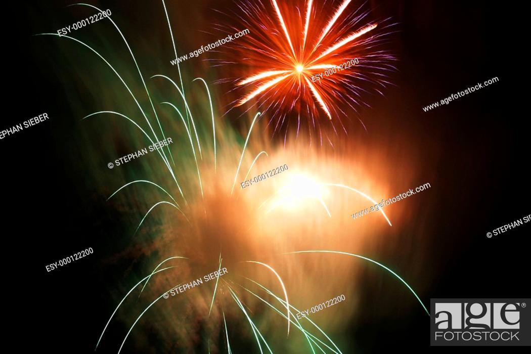 Stock Photo: Feuerwerk 2.