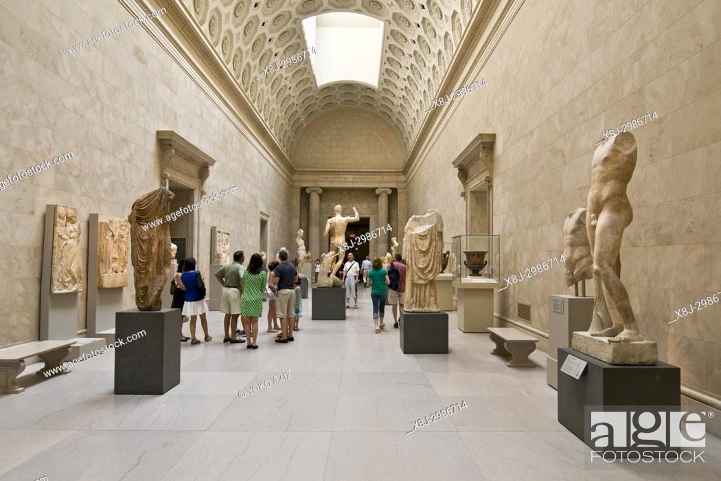 Stock Photo: The Metropolitan Museum of Art, Manhattan (New York, United States of America).