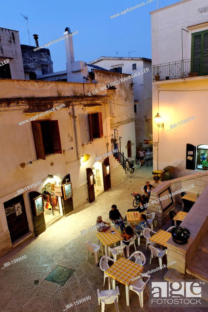 Stock Photo: Vieste, Gargano, Apulia or Puglia, South Italy, Europe.
