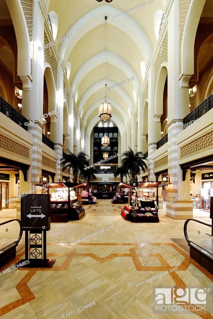 Souk Al Bahar Outside Area Of Dubai Mall Largest Mall In The World
