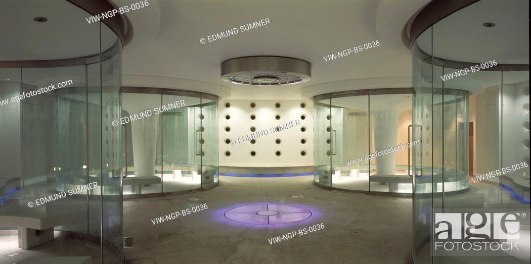 Stock Photo: THEMA BATH SPA, BATH, UNITED KINGDOM, Architect GRIMSHAW.