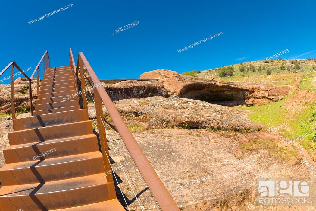 Imagen: Tiermes Celtiberian-Roman Archaeological Site, Montejo de Tiermes, Soria, Castilla y León, Spain, Europe.