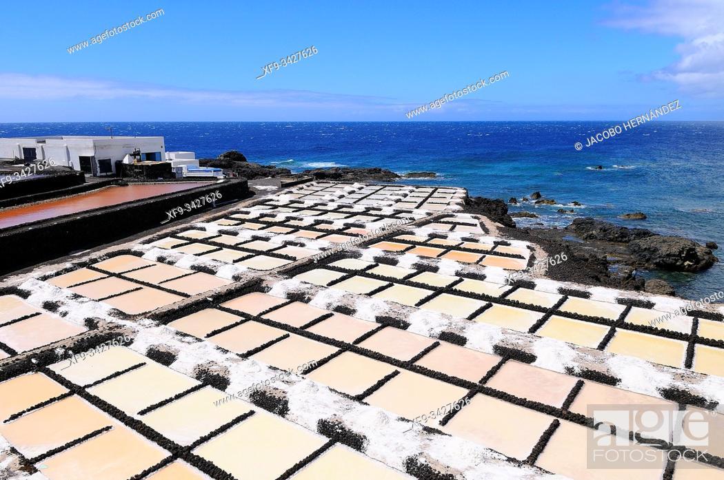 Photo de stock: Saline. Fuencaliente. La Palma. Canary Islands. Spain.