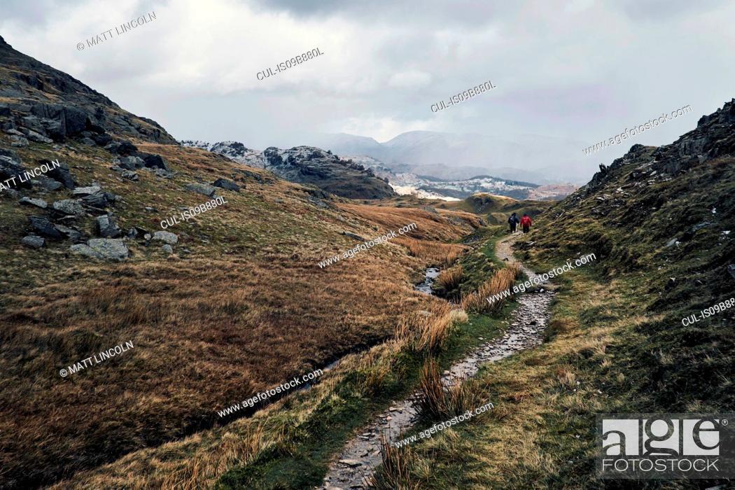 Stock Photo: Coniston, Cumbria, United Kingdom.