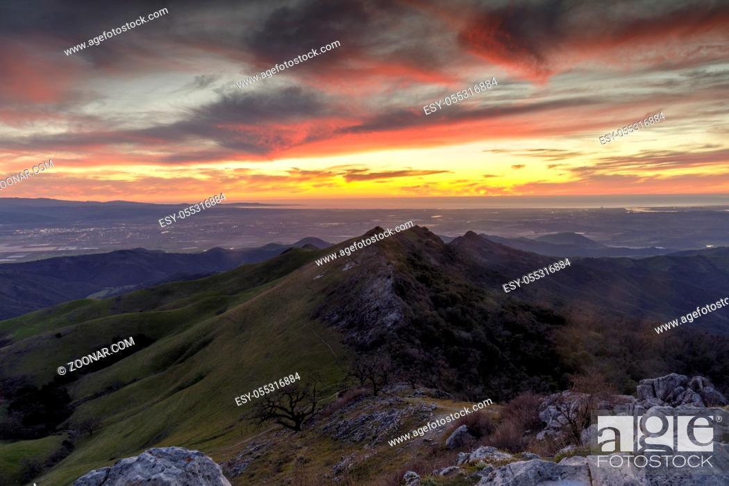Photo de stock: Fremont Peak State Park, San Benito and Monterey Counties, California, USA.