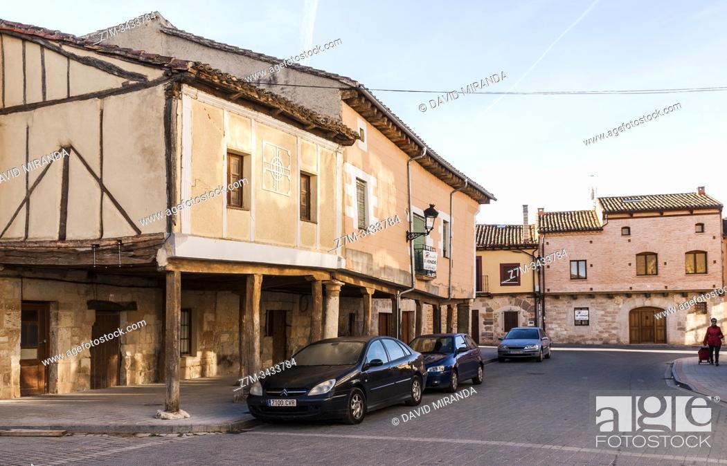 Stock Photo: Arquitectura tradicional. Villadiego. Burgos. Castilla León. España.