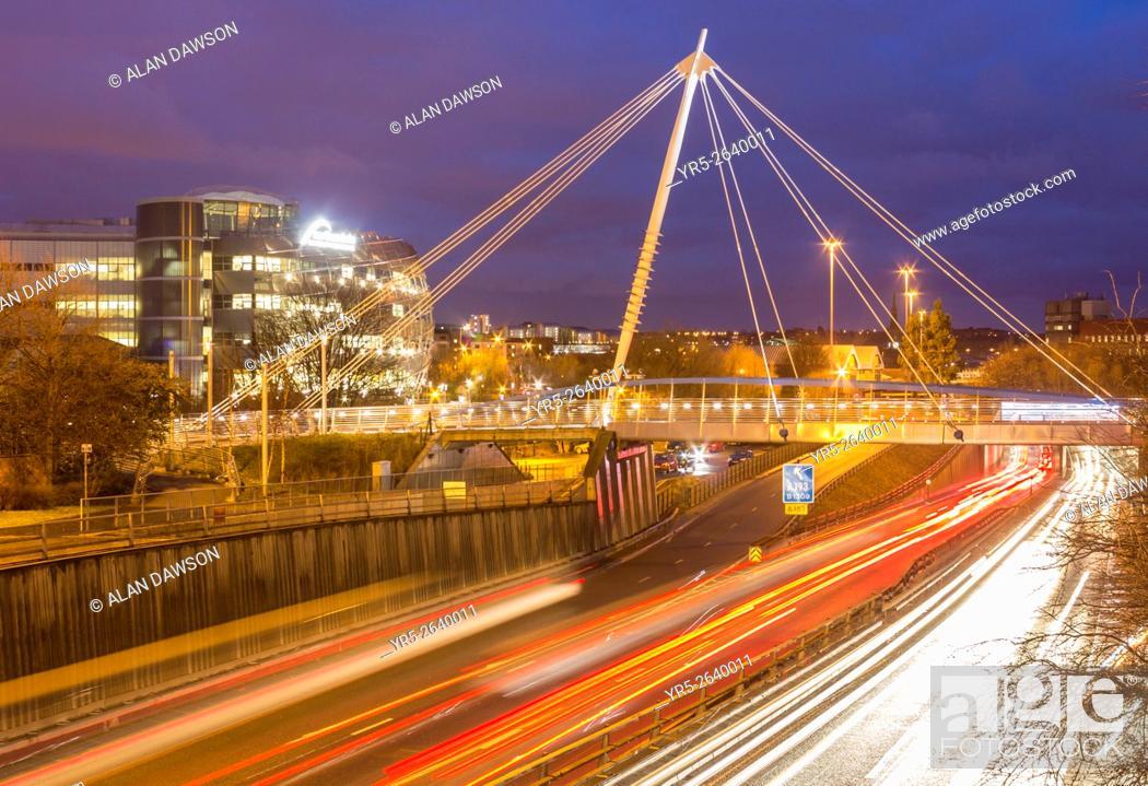 Stock Photo: Northumbria University, Newcastle upon Tyne, England, United Kingdom, Europe, .