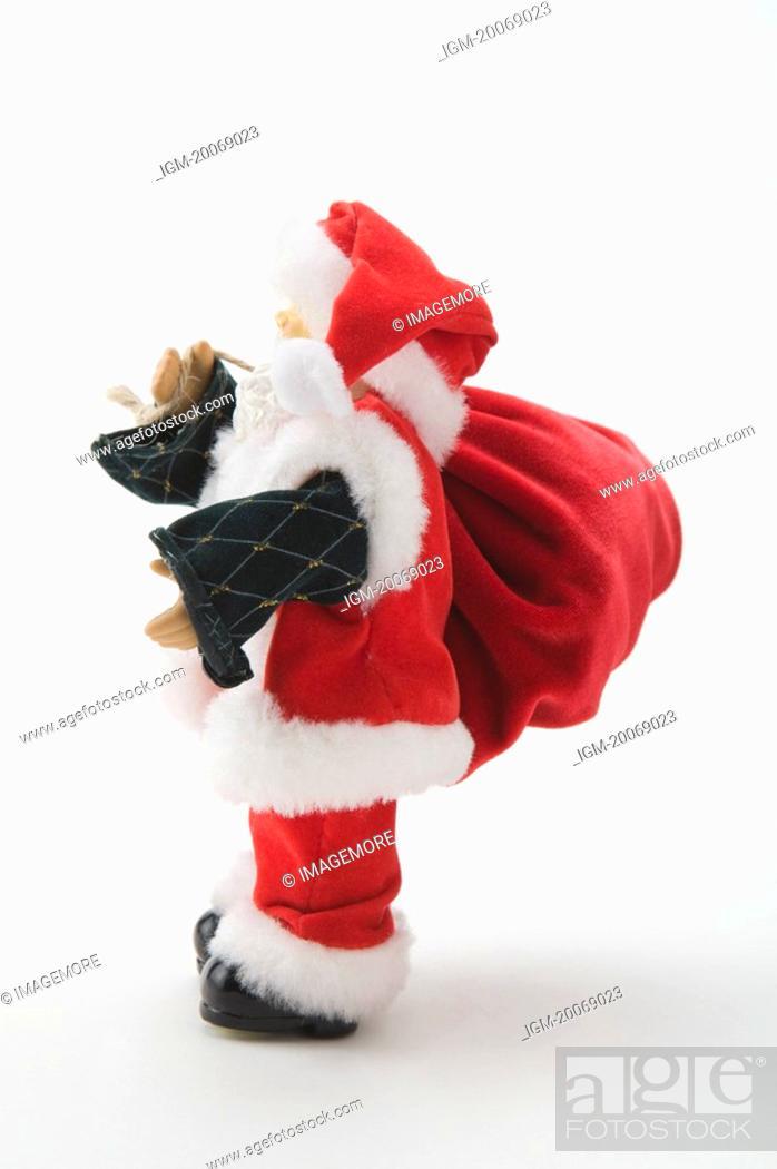 Stock Photo: Santa Claus figurine.
