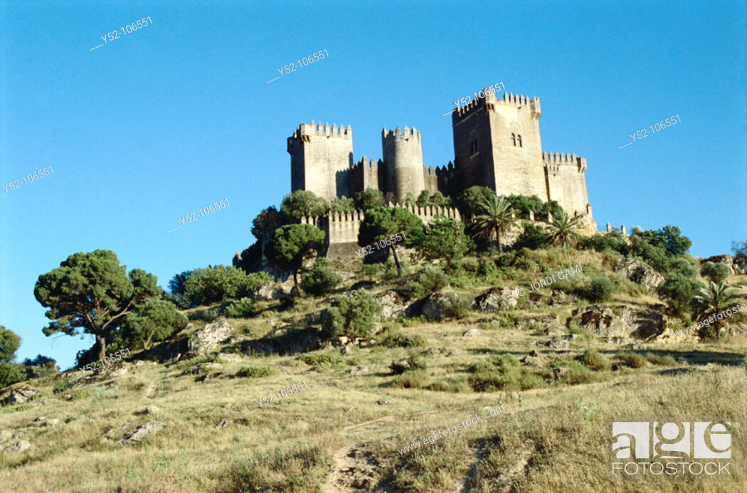 Stock Photo: Castle. Almodóvar del Río. Córdoba province. Spain.