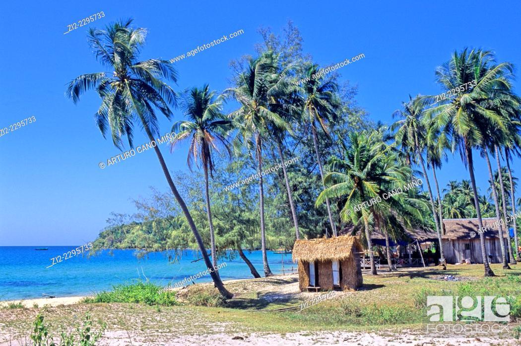 Stock Photo: Koh Rong Island. Sihanoukville, Cambodia.