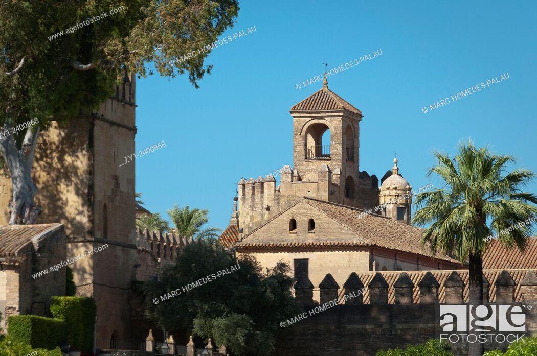 Stock Photo: Alcazar de los Reyes Cristianos. Córdoba, Spain.
