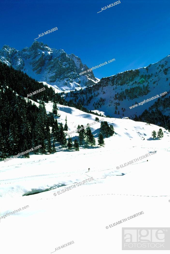 Stock Photo: Mountain - Meribel - Winter.