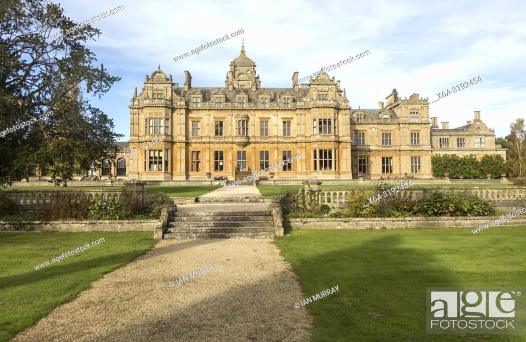 Imagen: Westonbirt House and School, Tetbury, Gloucestershire, England, UK designed by Lewis Vulliamy built 1863-1870.