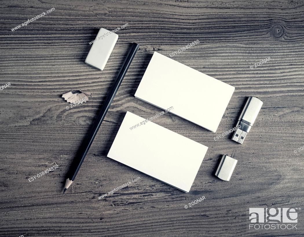 Stock Photo: Blank paperwork template.