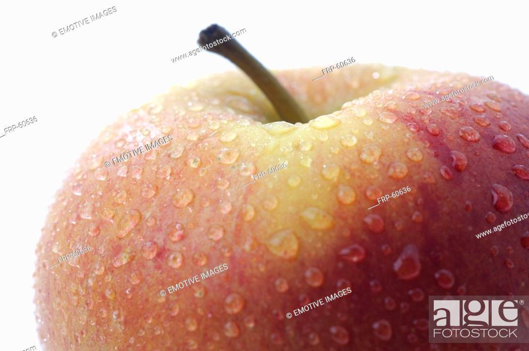 Stock Photo: Apple.