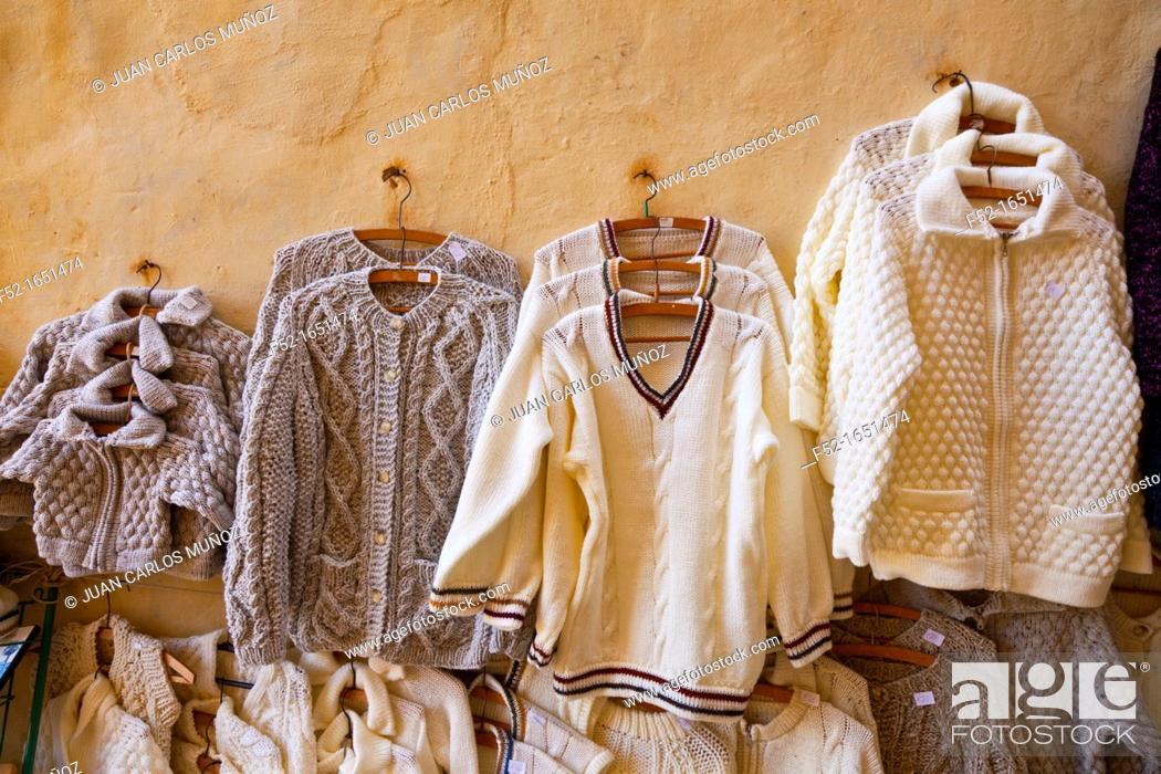 Stock Photo: Traditional handicraft, The Citadel or Gran Castello, Victoria Rabat Village, Gozo Island, Malta.