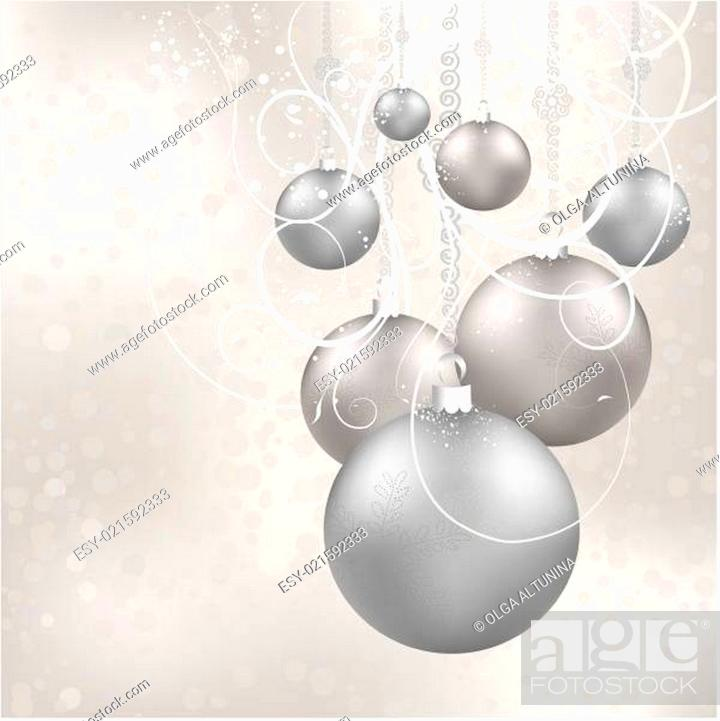 Stock Vector: Christmas ball.