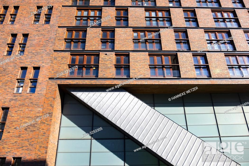 Photo de stock: Modern architecture at Funenpark, Amsterdam, the Netherlands, Europe.
