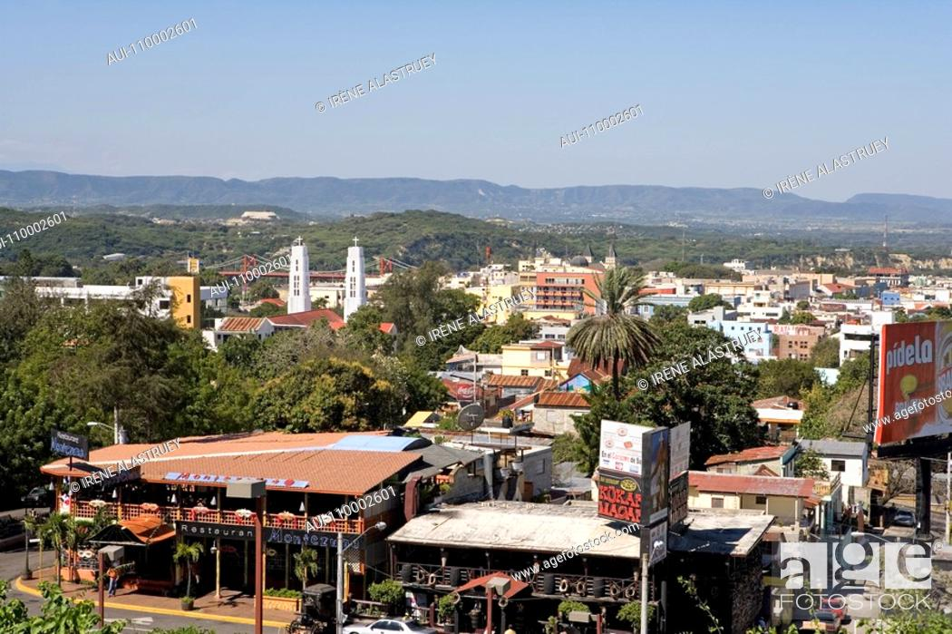 Stock Photo: Dominican Republic - Centre - The Cibao - Santiago - The old centre.