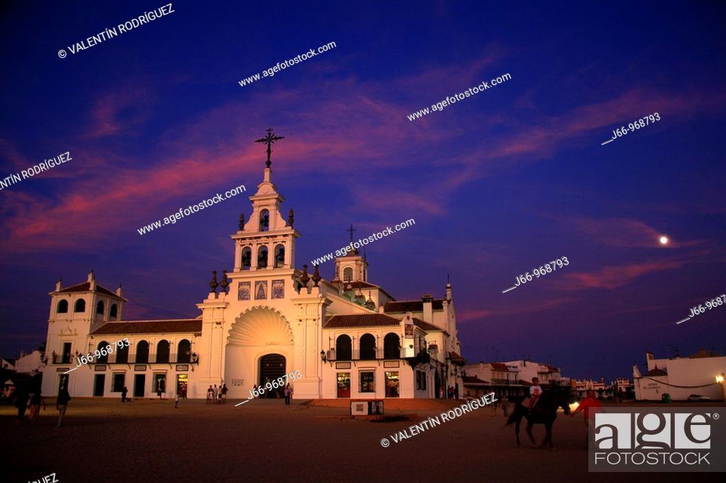 Stock Photo: Ermita de El Rocío.