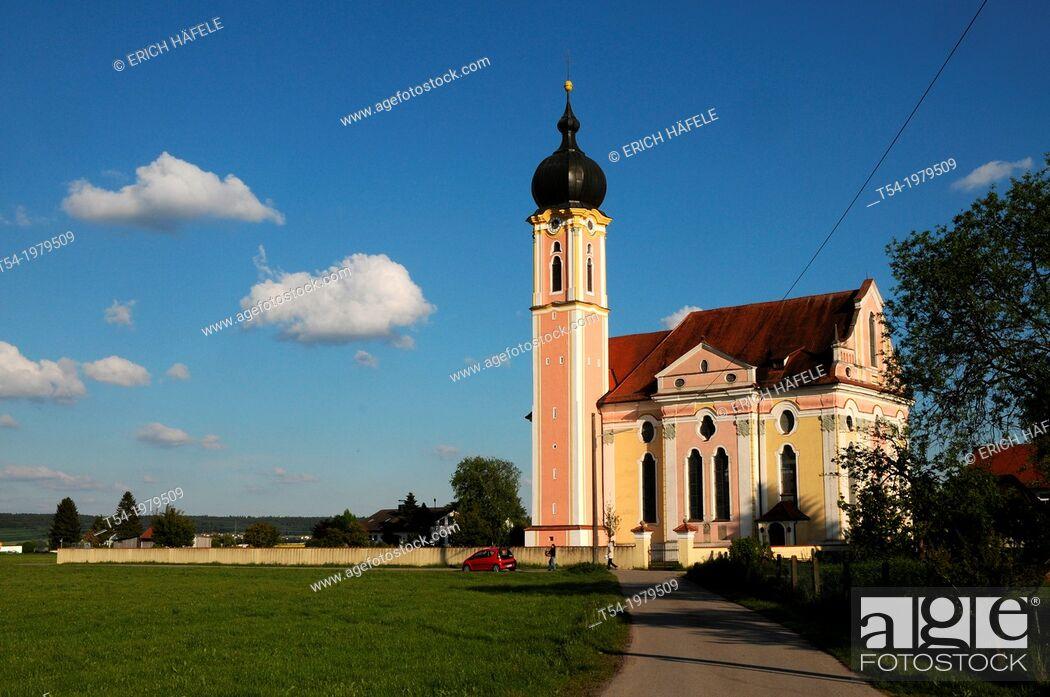 Stock Photo: Baroque church in Pless.