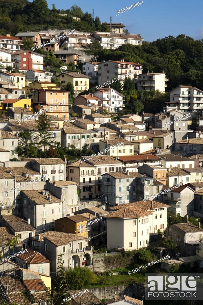 Stock Photo: Mormanno, Calabria, Italy.
