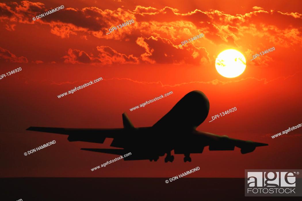 Stock Photo: Airplane.