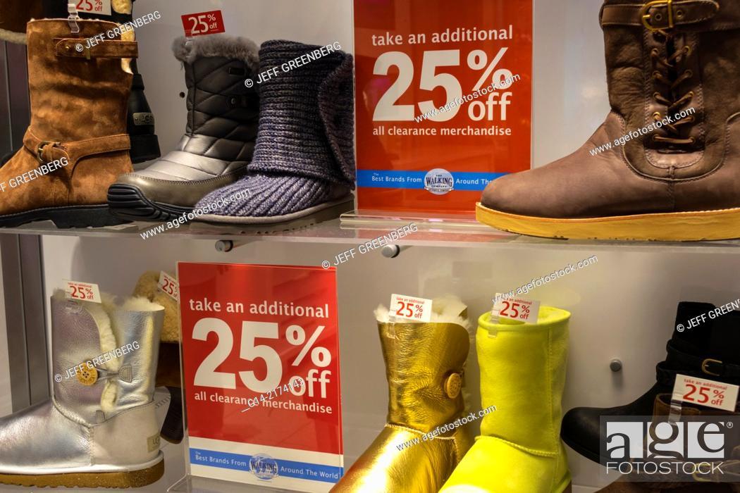 Florida, Orlando, The Mall at Millenia, shopping, shoes