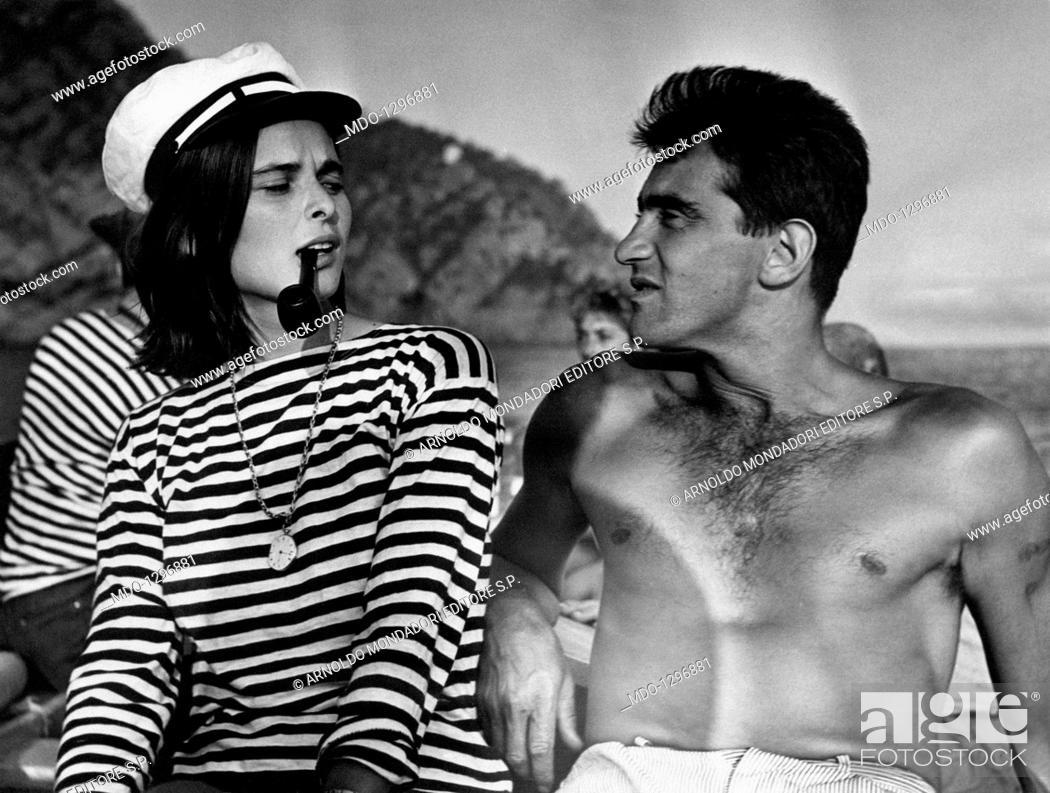 Lucia Bosé And Walter Chiari Italian Actor And Host Walter Chiari