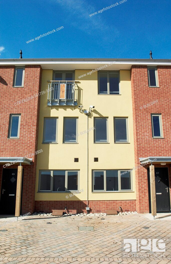 Imagen: New housing at the South Lynn Millennium community development in Kings Lynn, one of seven UK sites set up in conjunction with English Partnerships and Local.